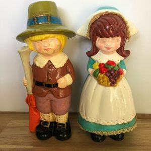 Vintage Napcoware Pilgram Figurines
